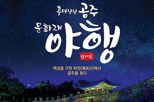 시원한 여름밤, 꿀맛 같은 산책 2018 공주 문화재 야행(夜行)